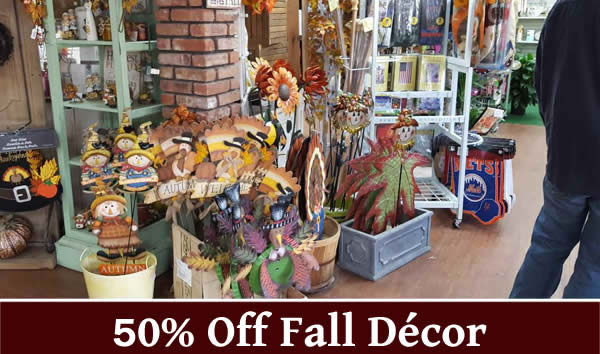 20% off fall gift items