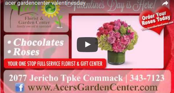 Valentine Flowers selection