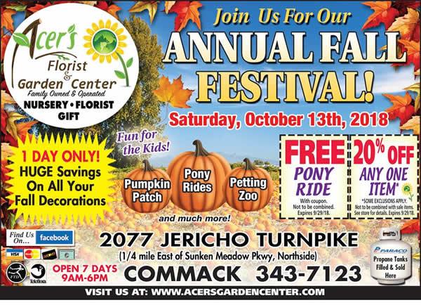 Fall Festival - October 13